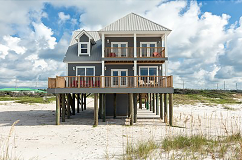 Enjoy your beach trip with your family in one of many beach homes in Orange Beach AL