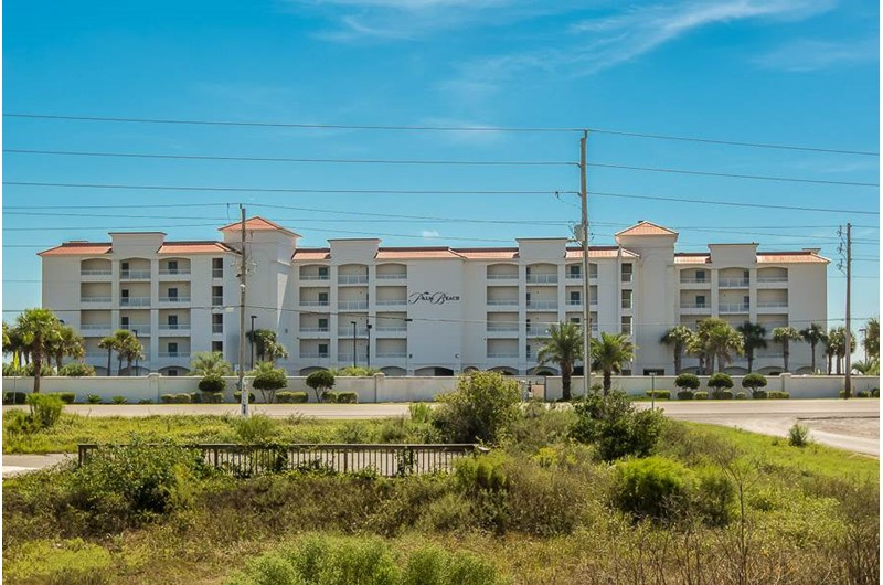 Palm Beach Condos in Orange Beach AL is directly on the beach