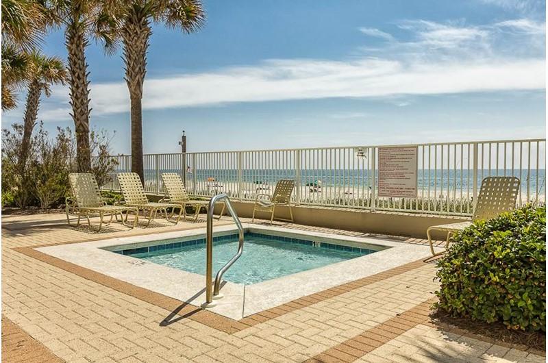 Nice kiddie pool at Pelican Pointe in Orange Beach Alabama