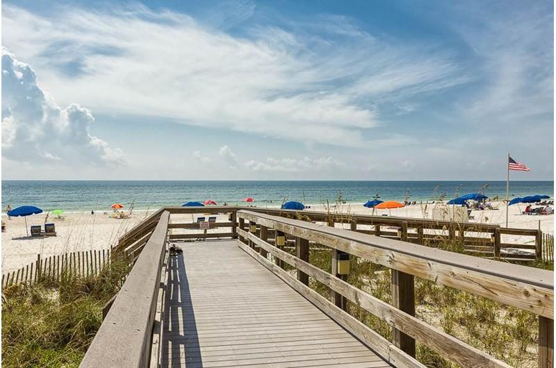 Boardwalk at Pelican Pointe in Orange Beach Alabama