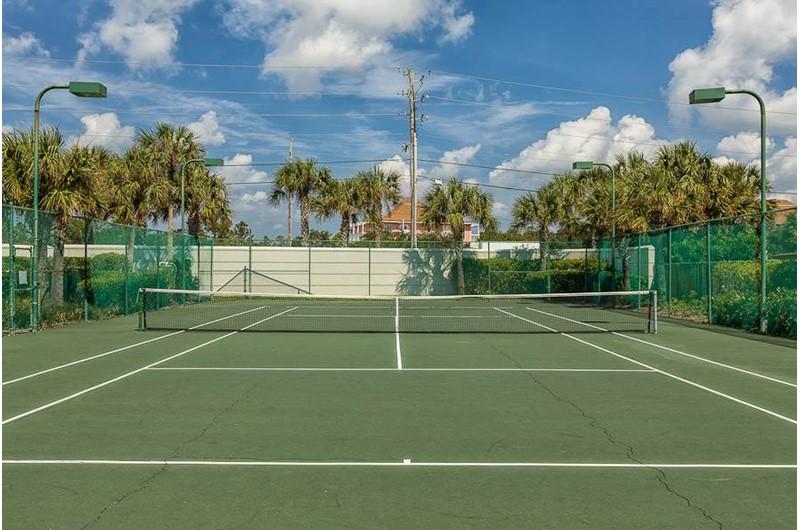 Enjoy tennis at Pelican Pointe in Orange Beach Alabama