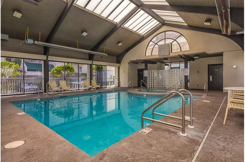 Nice indoor pool at Pelican Pointe in Orange Beach Alabama