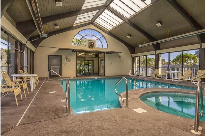 Large indoor pool at Pelican Pointe in Orange Beach Alabama