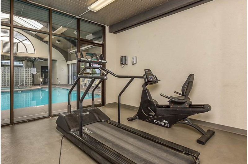 Nice work out facilities at Pelican Pointe in Orange Beach Alabama