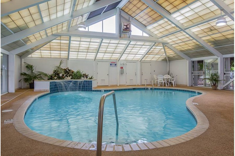 Indoor pool at Perdido Grande in Orange Beach Alabama