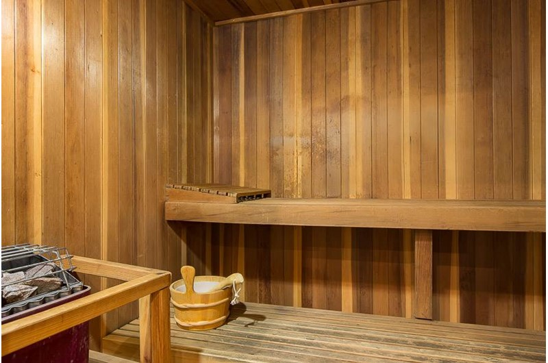 Sauna at Perdido Grande in Orange Beach Alabama