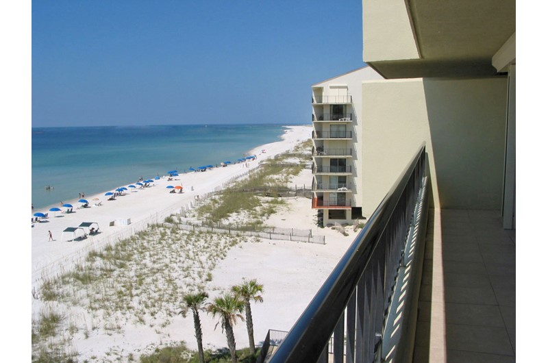 Relax on your balcony and enjoy the view at Perdido Quay in Orange Beach Alabama