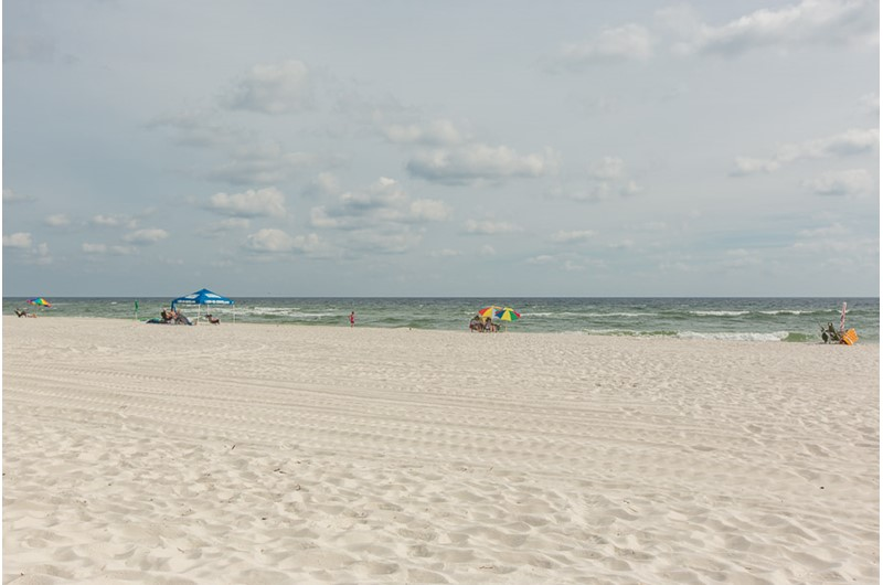 Beach and Gulf at Phoenix I in Orange Beach Alabama