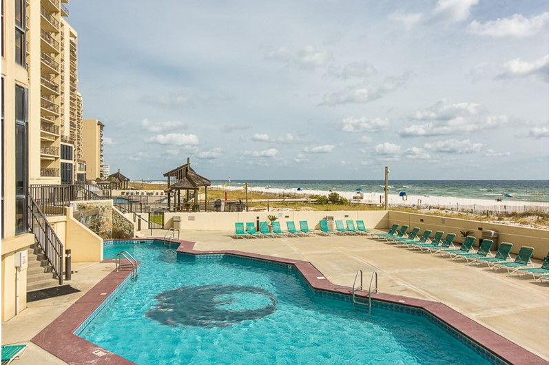Pool at Phoenix I at Orange Beach Alabama