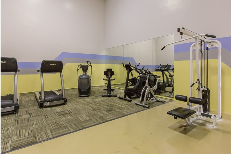 Work out room at Phoenix I in Orange Beach Alabama