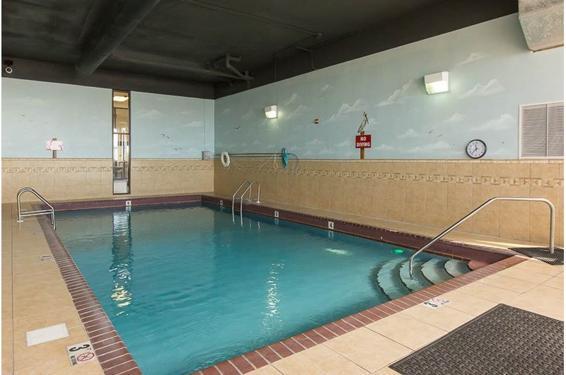 Indoor pool at Phoenic III in Orange Beach Alabama
