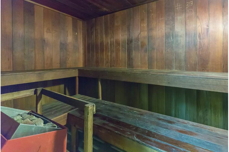 Sauna at Phoenic III in Orange Beach Alabama