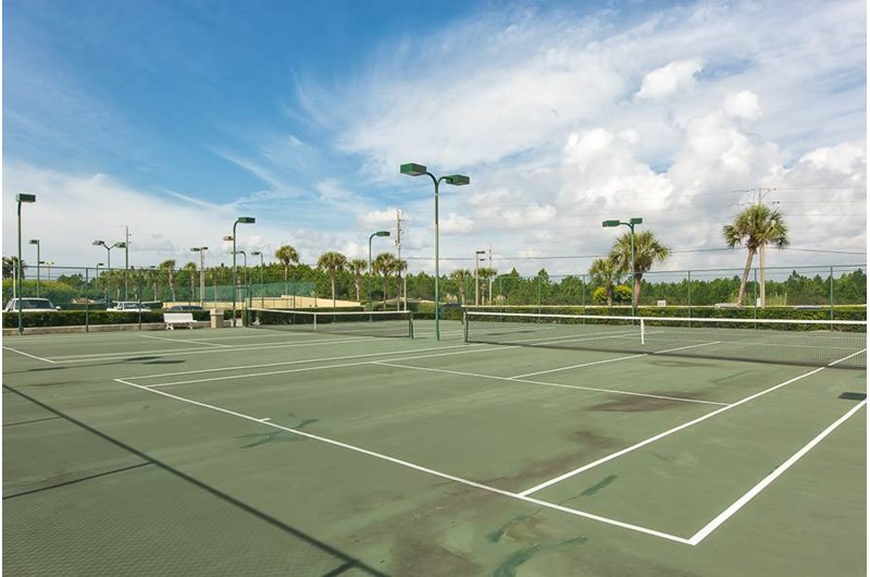 Tennis Courts at Phoenix III in Orange Beach Alabama