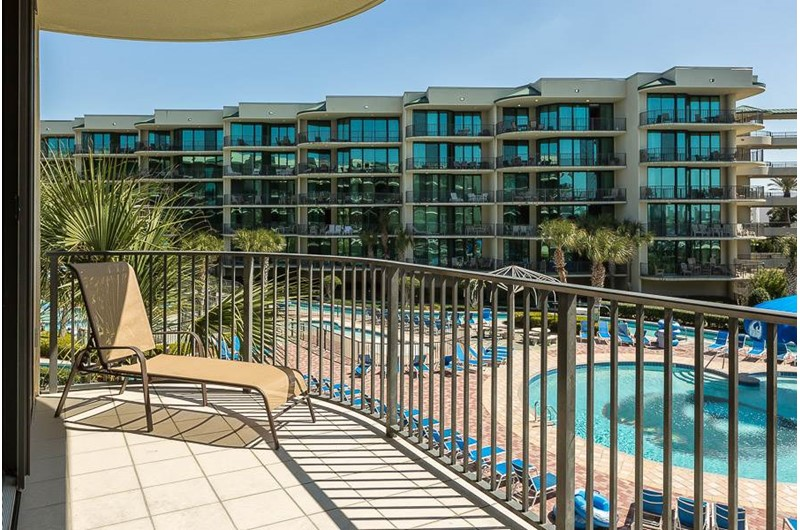 Amazing view of the property at Phoenix on the Bay in Orange Beach AL