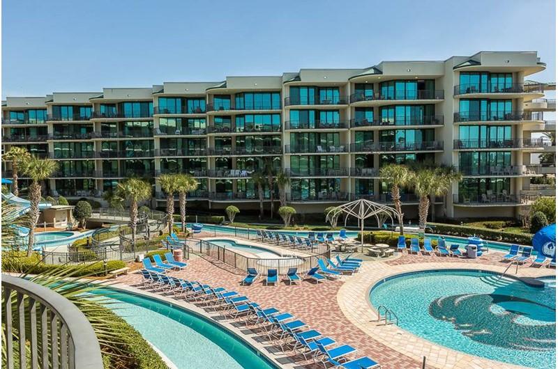 Fabulous pools at Phoenix on the Bay in Orange Beach AL