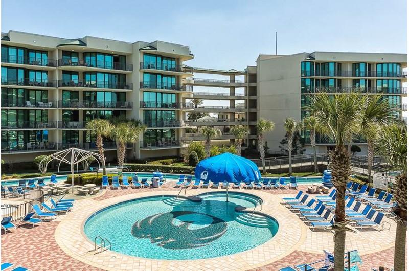 Wonderful pool area at Phoenix on the Bay in Orange Beach AL