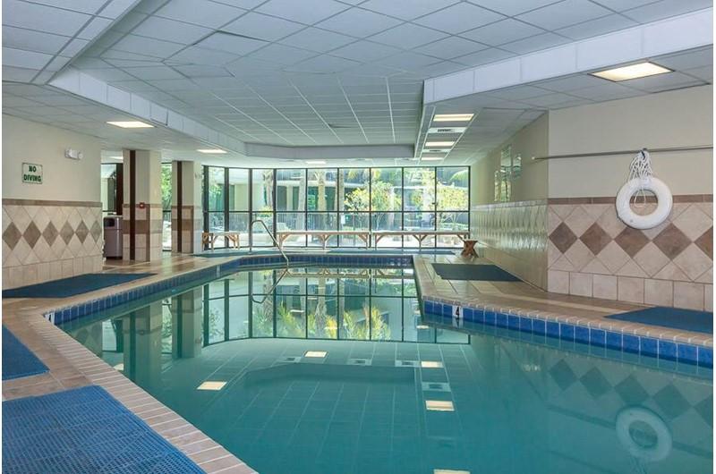 Large indoor pool at Phoenix on the Bay in Orange Beach AL