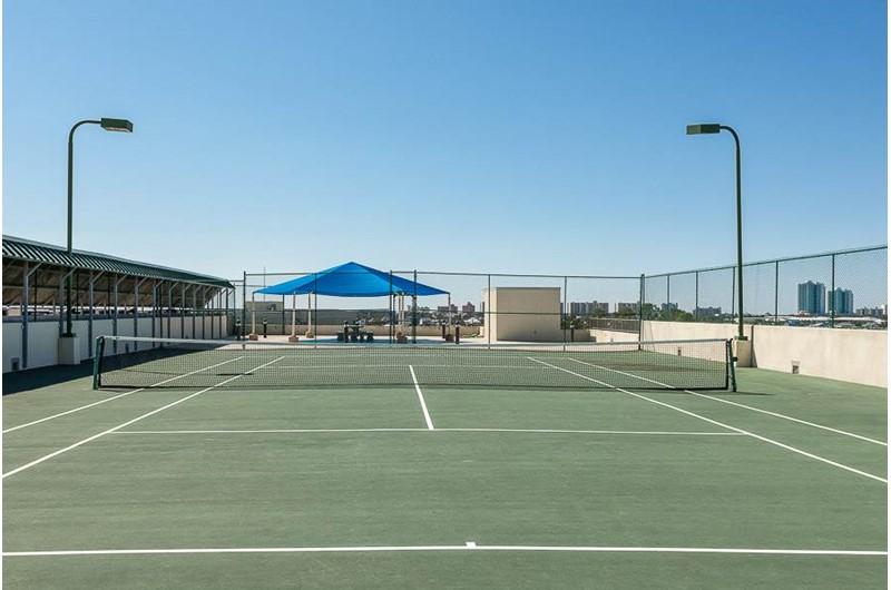 Enjoy a round of tennis at Phoenix on the Bay in Orange Beach AL