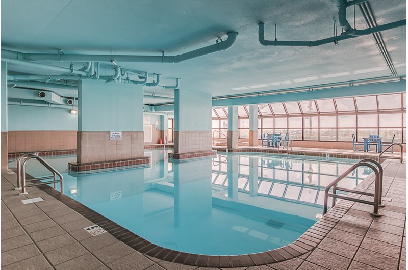 Indoor pool at Phoenix V in Orange Beach Alabama