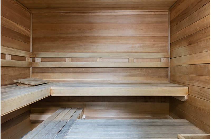Sauna at Phoenix V in Orange Beach Alabama