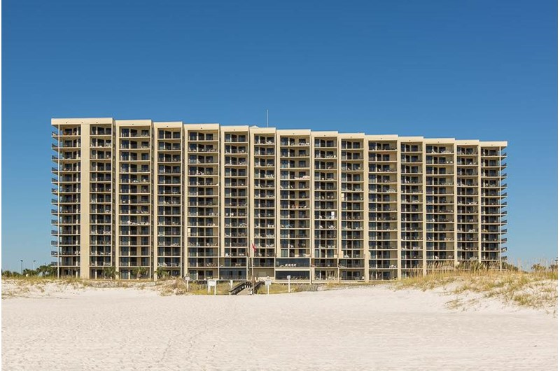 Phoenix VI is a beach front condo in Orange Beach Alabama