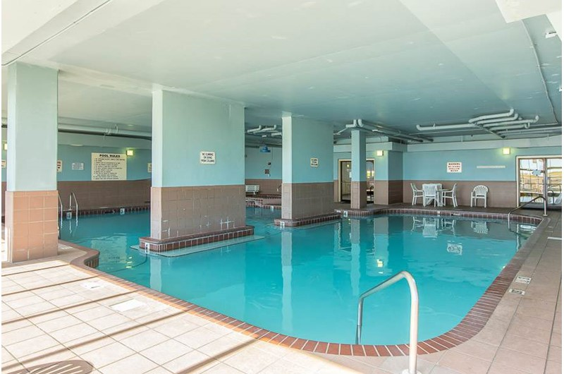 Indoor pool at Phoenix VI in Orange Beach Alabama