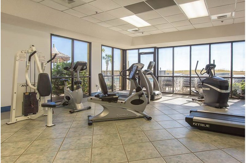 Gym at Phoenix VI in Orange Beach Alabama