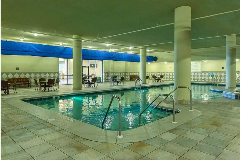 Indoor pool at Phoenix West in Orange Beach AL
