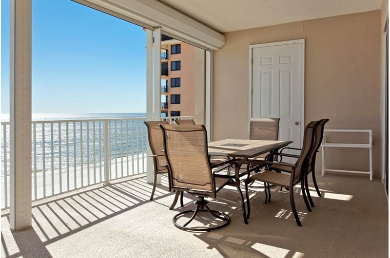 Enjoy the view from your balcony at Regency Isle in Orange Beach AL