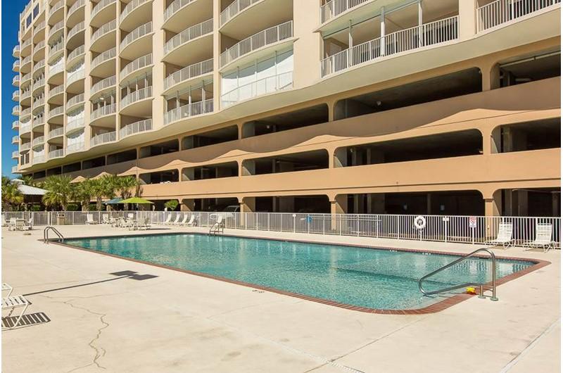 Wonderful pool area at Regency Isle in Orange Beach AL