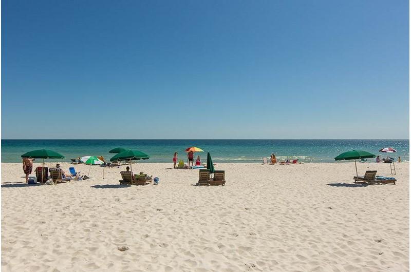 Gorgeous beach at Regency Isle in Orange Beach AL
