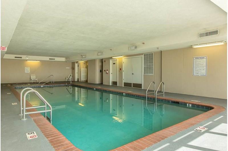 Large indoor pool at Regency Isle in Orange Beach AL
