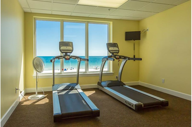 Get your workout in at Regency Isle in Orange Beach AL