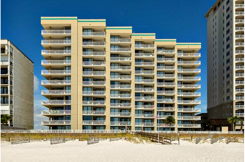 Beachfront Romar Place in Orange Beach AL