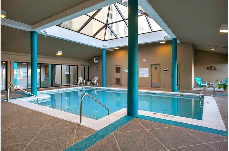 Indoor pool at Romar Place in Orange Beach AL