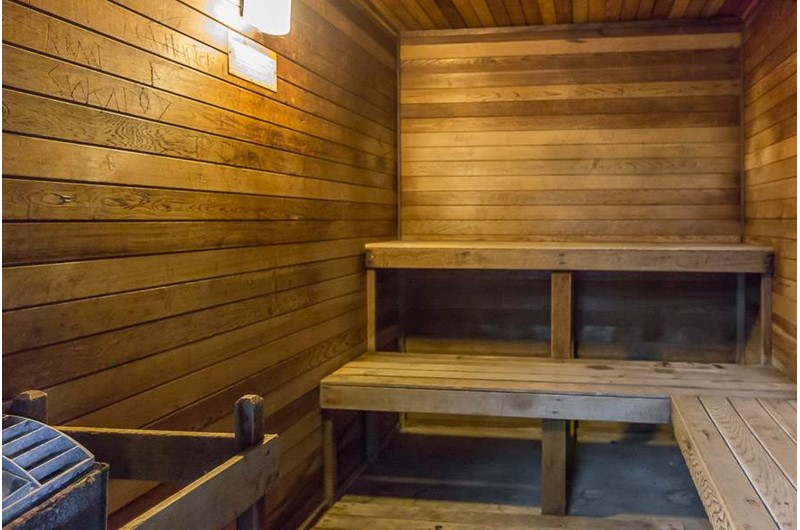 Relax in the sauna at Romar Place in Orange Beach AL