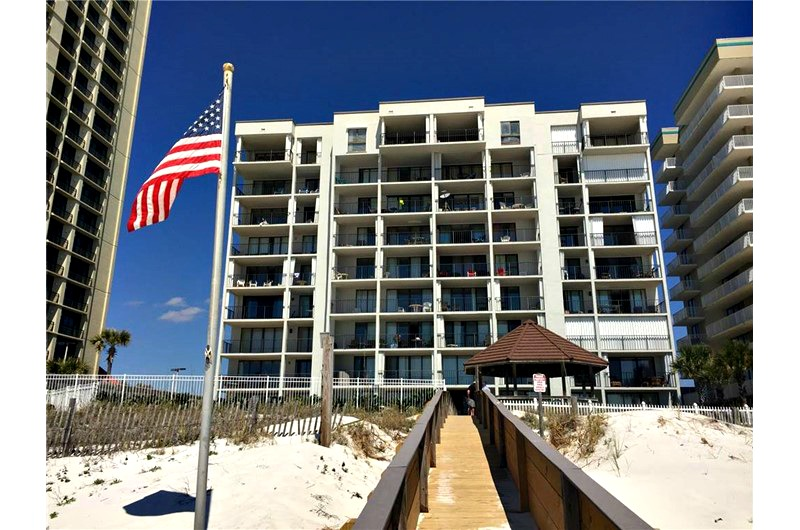 Beachfront Romar Tower in Orange Beach AL
