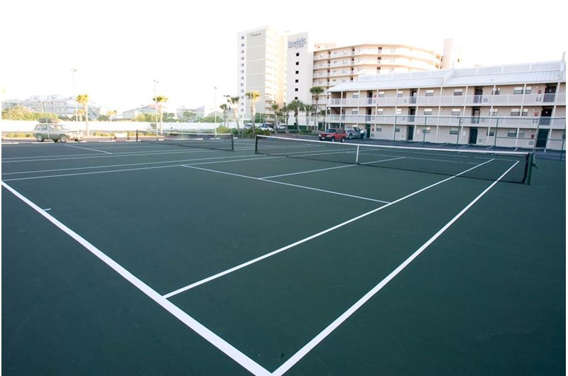 Play a round of tennis at Seaside Beach and Racquet in Orange Beach AL