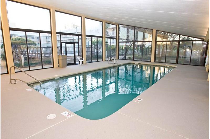 Nice indoor pool at Seaside Beach and Racquet in Orange Beach AL