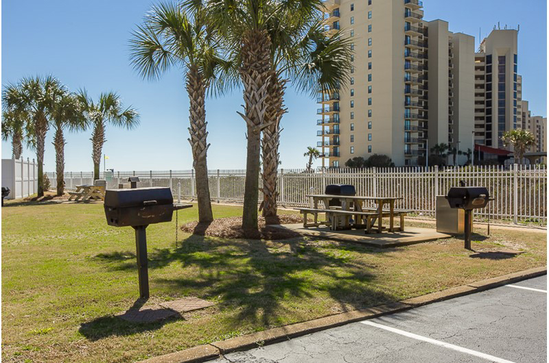 Grill your dinner at Seaside Beach and Racquet in Orange Beach AL