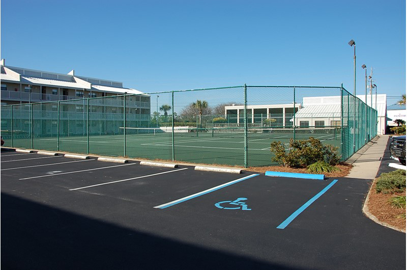 Get your game on playing tennis at Seaside Beach and Racquet in Orange Beach AL