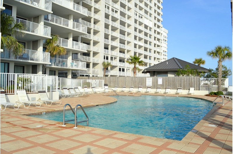 Gorgeous pool area at Shoalwater in Orange Beach AL