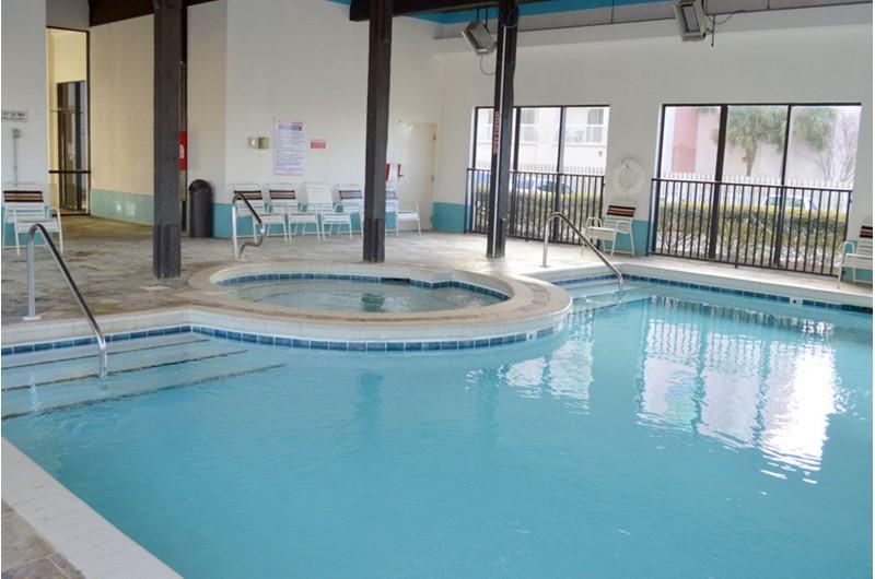Love indoor pool at Shoalwater in Orange Beach AL