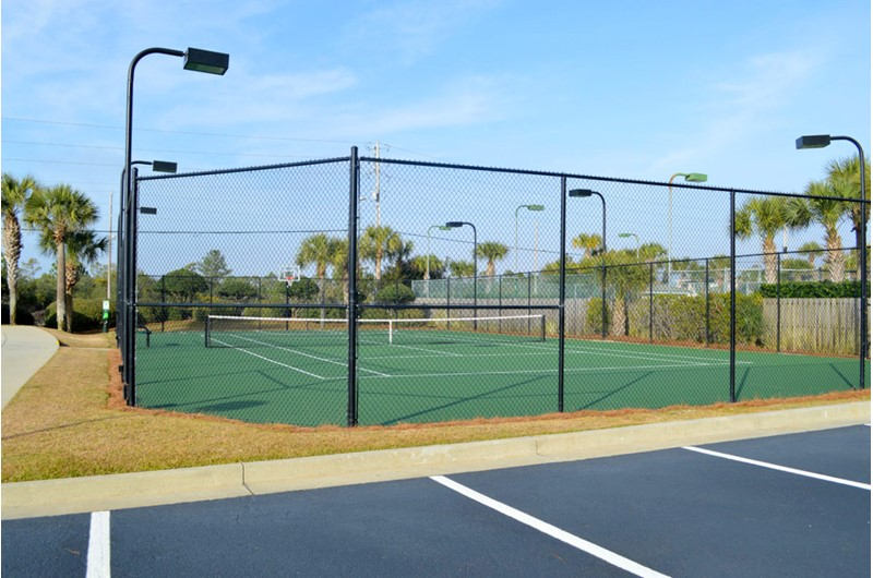 Play a round of tennis at Shoalwater in Orange Beach AL