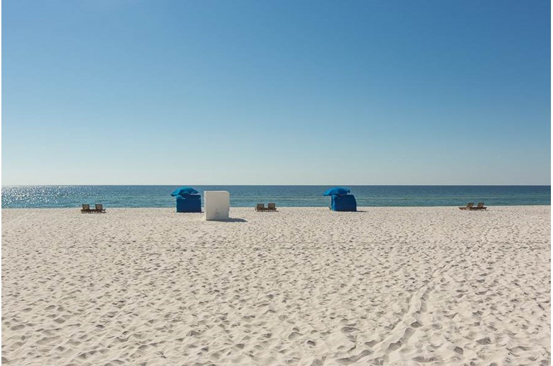 Get a direct view of the beach from Sugar Beach in Orange Beach AL