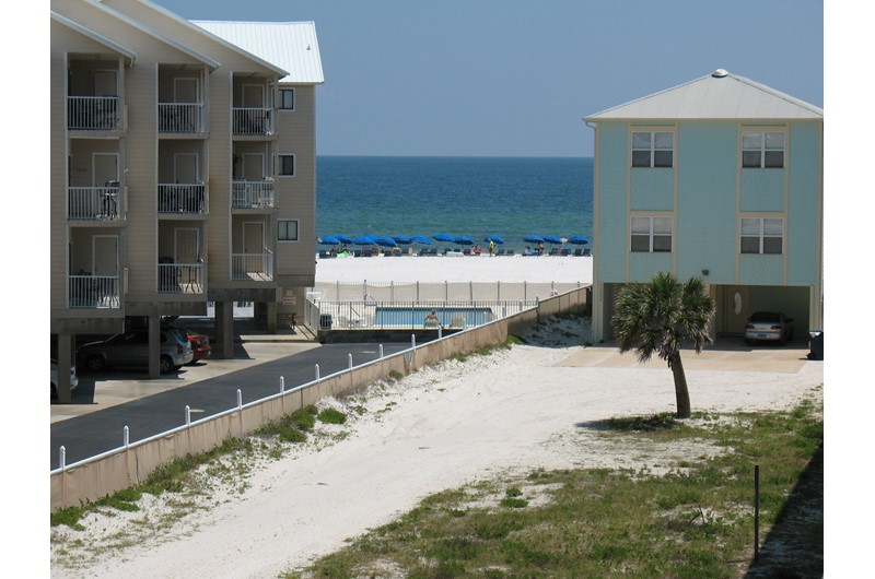Great view from your condo at Sugar Beach in Orange Beach AL