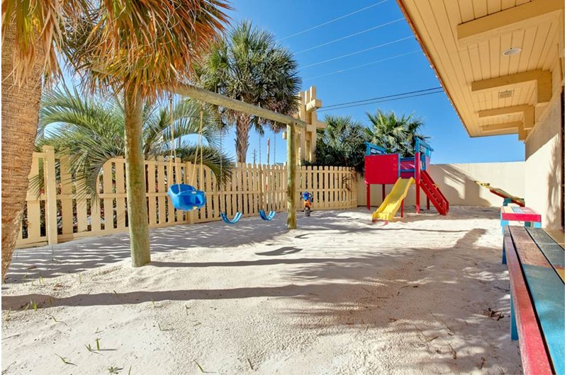 Kids and parents alike with enjoy the playground at Summer Place at Romar  Beach in Orange Beach AL