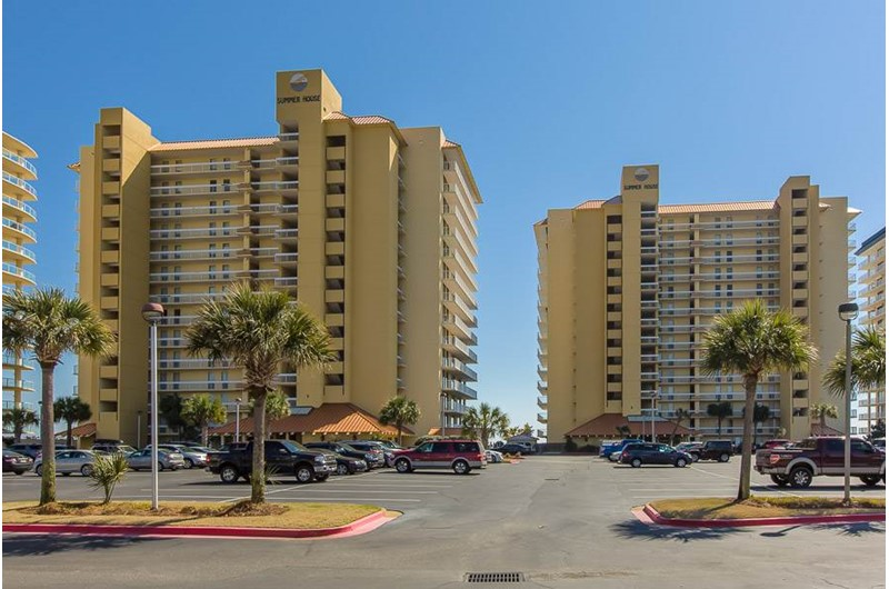 Summer Place at Romar  Beach in Orange Beach AL is directly Gulf front