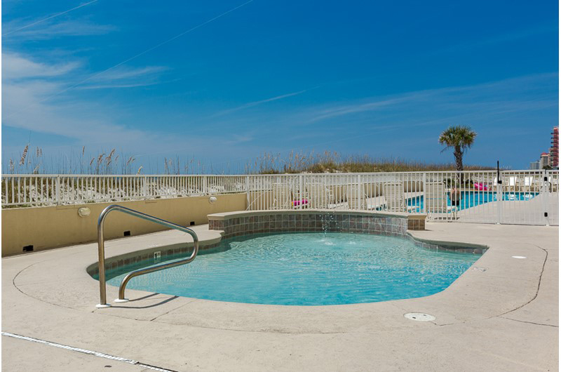 The kiddie pool with be a hit at Summerchase Condominiums in Orange Beach AL