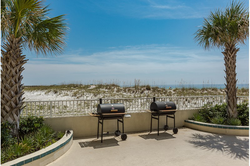 Grill out your family dinner at Summerchase Condominiums in Orange Beach AL